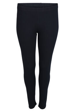 Legging long en coton biologique, Marine