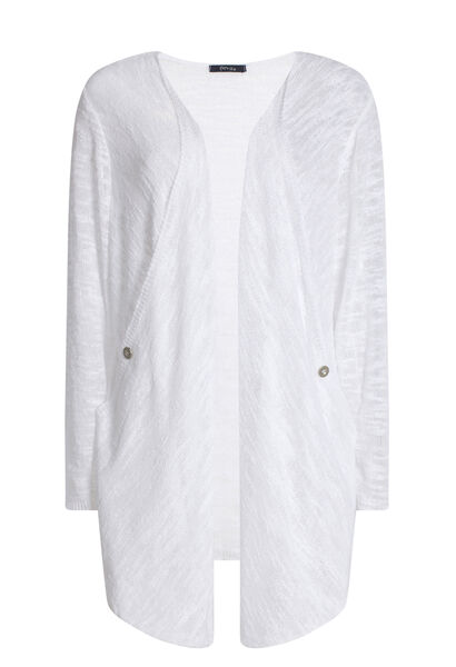 Gilet in voile - Wit