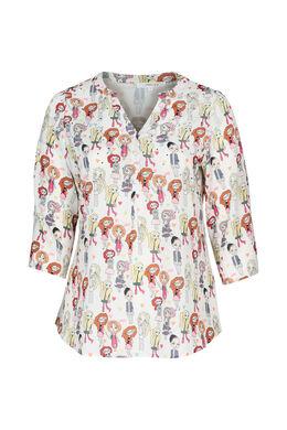 """Hemd met print """"Madames"""", Multicolor"""