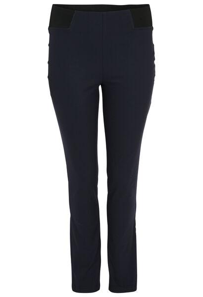 Pantalon matière stretch - Marine
