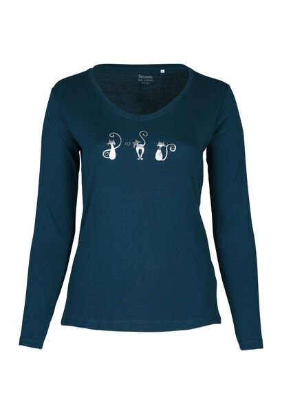 T-shirt 3 petits chats - Canard