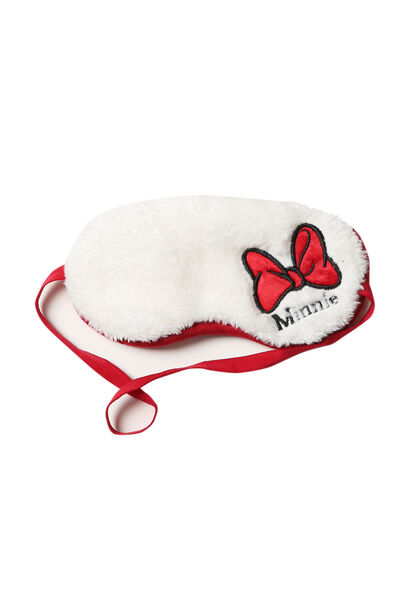 Masque de nuit Minnie - Ecru