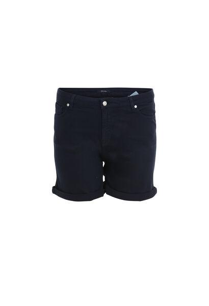 Short en coton - Marine