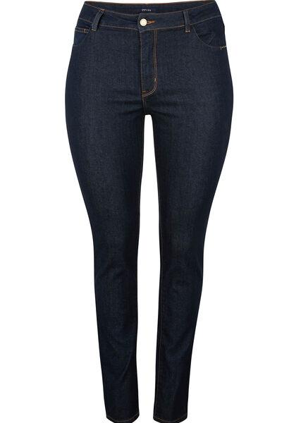 Jeans met 5 zakken, slim model - Denim