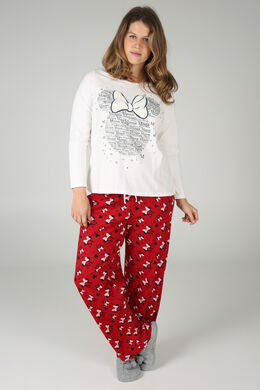 Ensemble de pyjama Minnie, Rouge