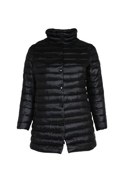 Lange donsjack - Zwart