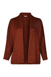 Oversized cardigan in lurextricot