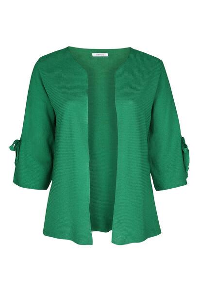 Cardigan manches larges avec noeuds - Vert
