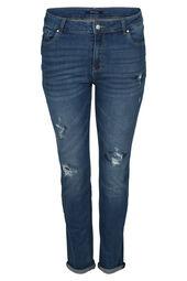 Jeans effet déchirures