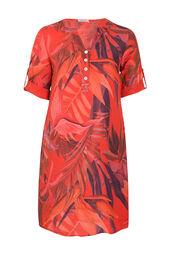 Tunique robe en lin