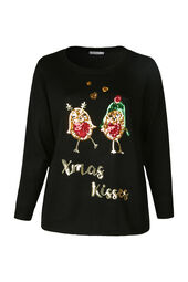 Kersttrui 'Xmas Kisses'