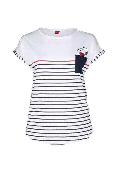 T-shirt de nuit Snoopy - Blanc