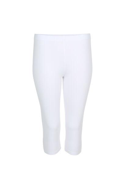 Legging en coton biologique - Blanc