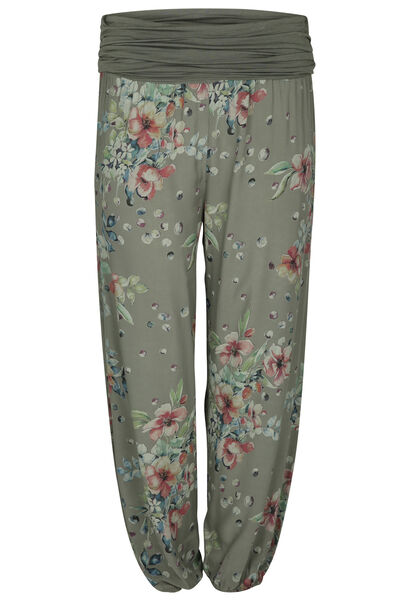 Pantalon en fibranne - Kaki