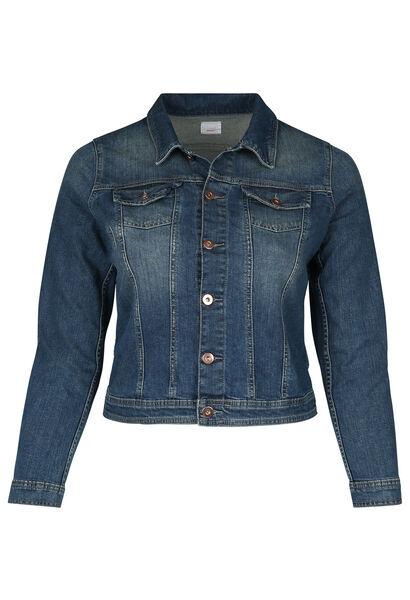 Veste courte en jeans - Denim