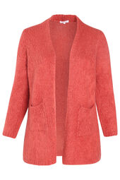 Cardigan long grosse maille
