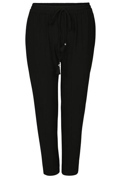 Pantalon fluide uni - Noir