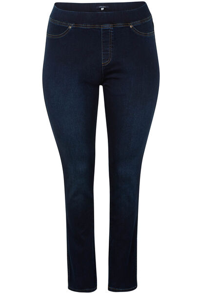Slim jegging in jeansstof - Denim