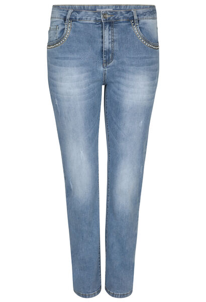Jeans straight - Longueur 30 - Denim