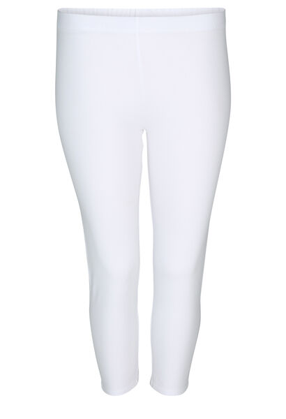 Legging in biokatoen - Wit