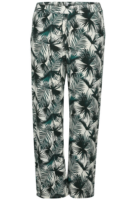 eff699cc81ff0 Pantalon pyjama imprimé tropical - Vert - Paprika