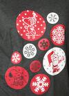 Nachtkleed Snoopy Kersteditie, Gris Chine