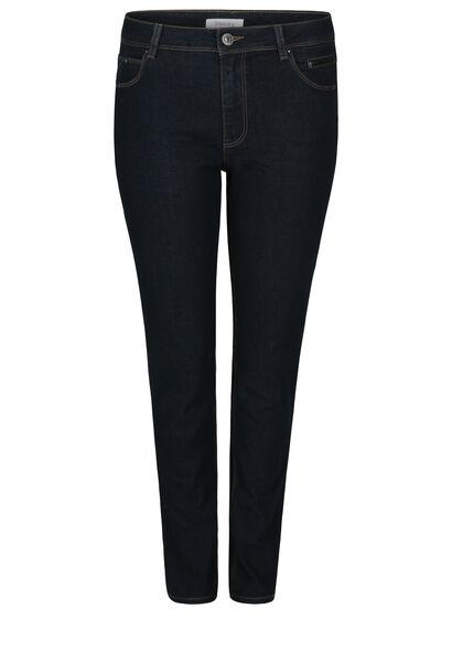 Smalle jeans met lovertjes - Denim