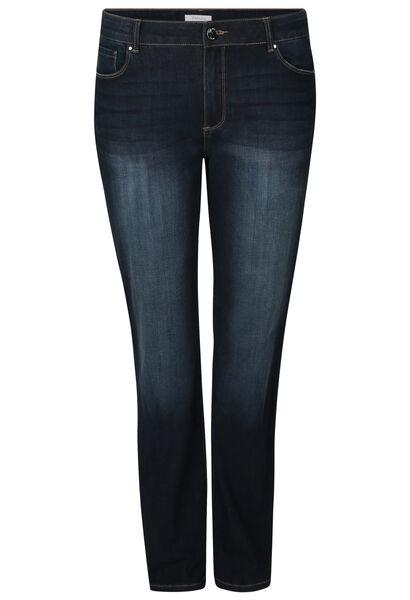 Rechte jeans in katoen - Denim