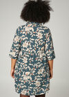 Robe chemise imprimé fleuri, Canard