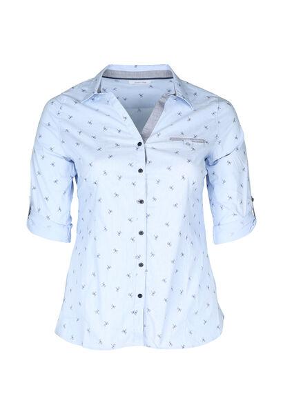 Hemd met libellen - Lichtblauw