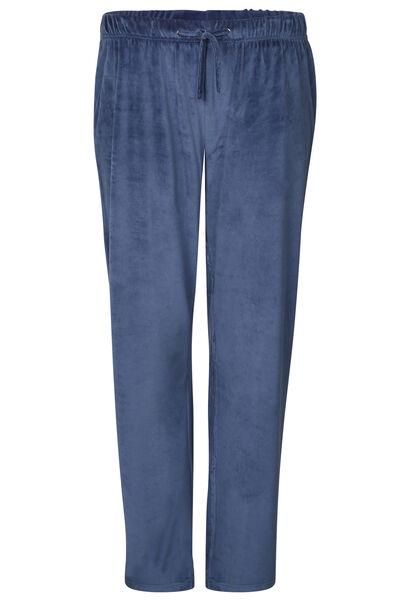 Pantalon d'intérieur en velours - Indigo