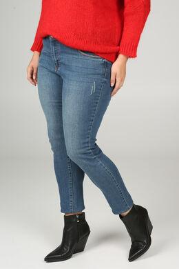 Jeans coupe droite, Denim