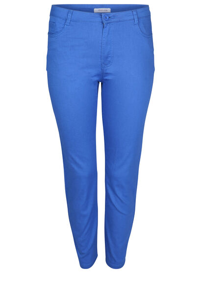 Pantacourt 5 poches - Bleu Bic