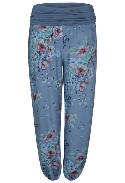 Pantalon en fibranne - Indigo