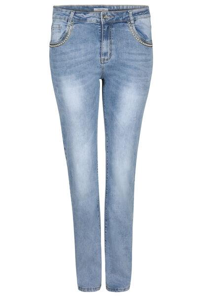 Straight jeans - Lengte 34 - Denim