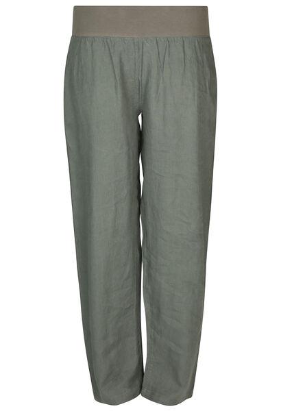 Pantalon en lin - Kaki