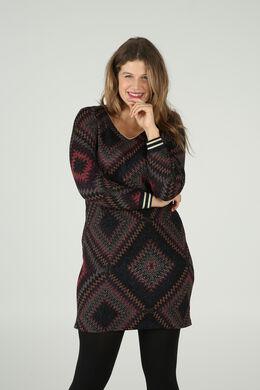 Geruite jurk, Multicolor