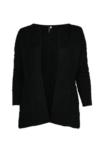 Cardigan jacquard - Noir