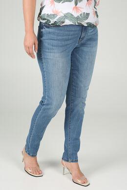 Slim jeans in katoen, Denim