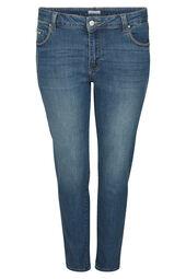 7/8 jeans met borduurwerk