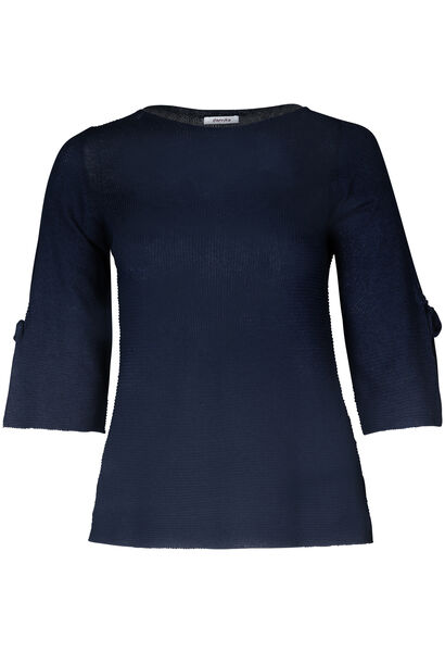 Pull manches larges - Indigo