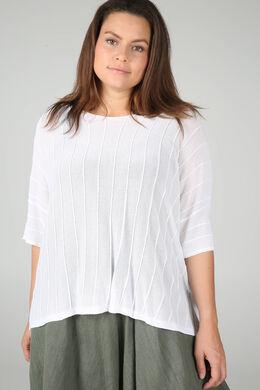 Blokvormige trui, Wit