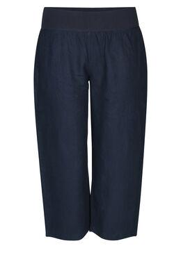 Pantalon en lin, Marine