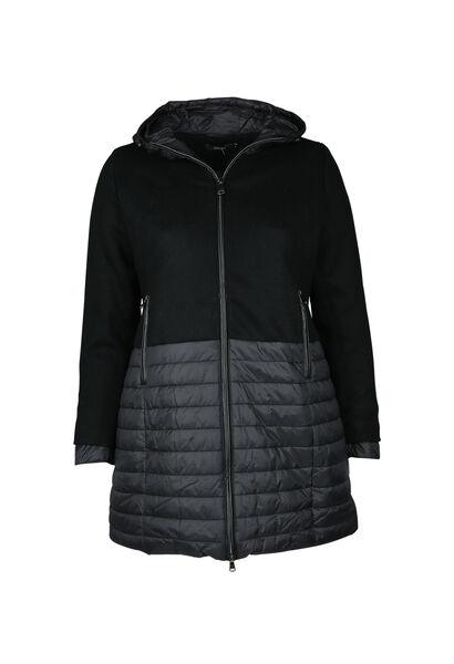 Manteau en laine - Noir