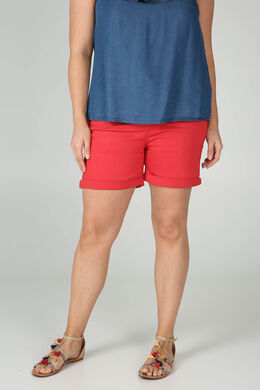Short 5 poches en coton, Orange