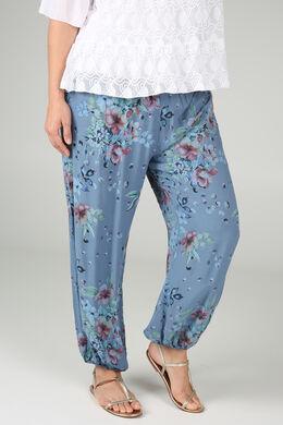 Pantalon en fibranne, Indigo