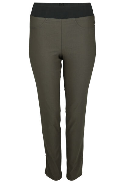 Pantalon de ville stretch - Kaki