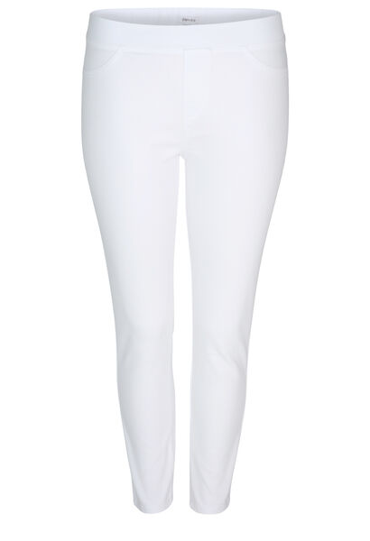 Jegging uni court - Blanc