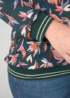 Blouse in voile met bloemetjesprint, Groen