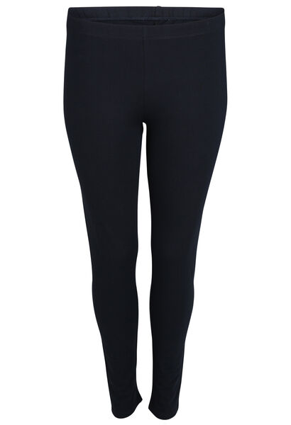 Legging long en coton biologique - Marine
